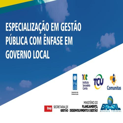 Curso de Especialização em Gestão Pública com Ênfase em Governo Local