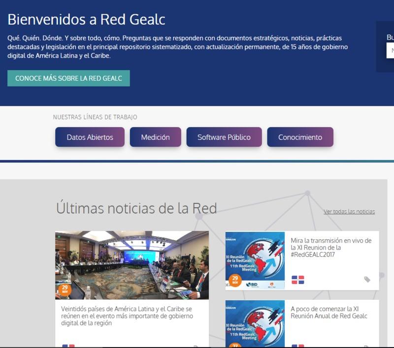 Rede de Governo Eletrônico da América Latina e Caribe