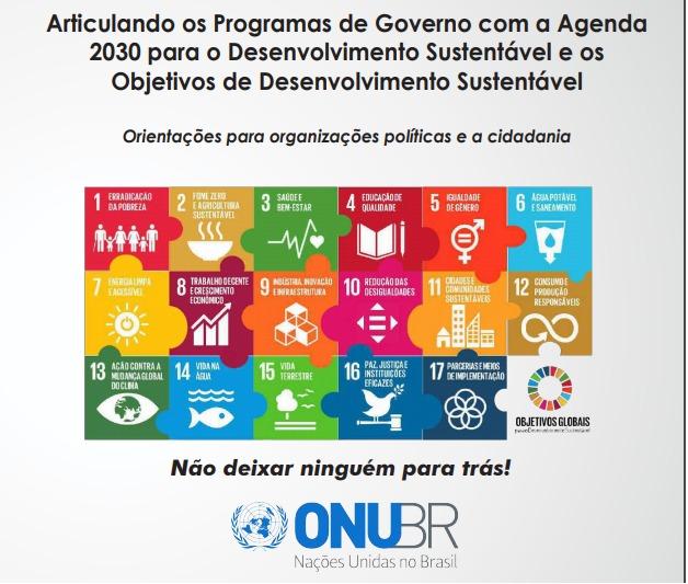 Articulando os Programas de Governo com a Agenda 2030 para o Desenvolvimento Sustentável
