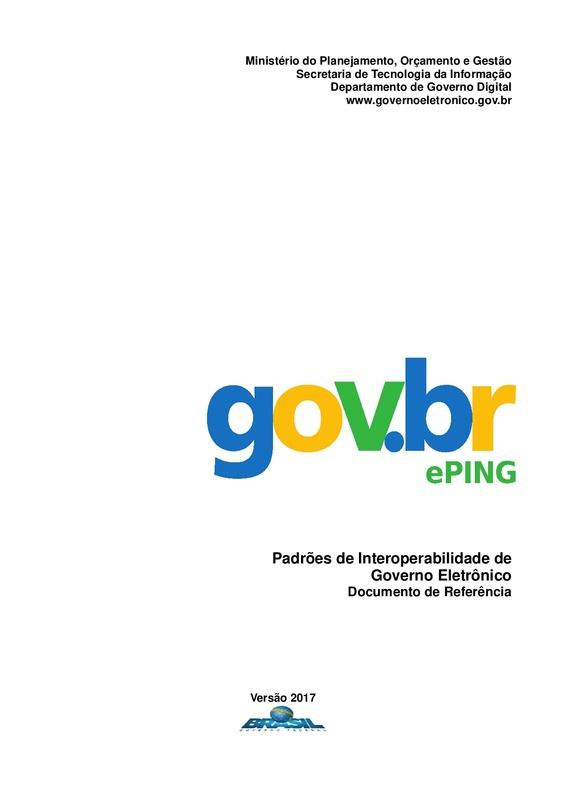 Padrões de Interoperabilidade de Governo Eletrônico – ePING