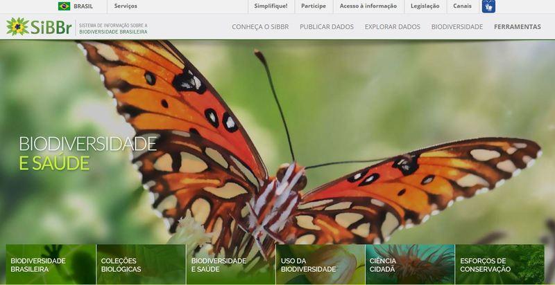 Sistema de Informação sobre a Biodiversidade Brasileira (SiBBr)
