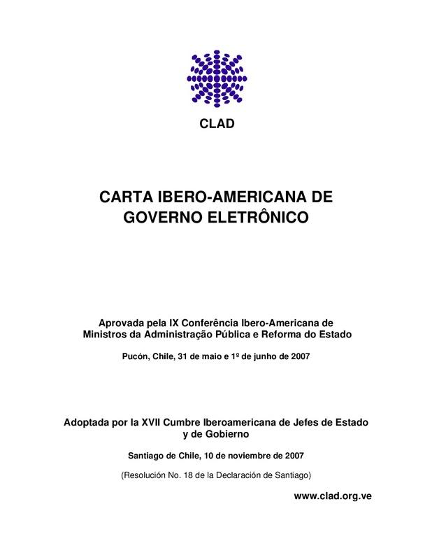 Carta Ibero-americana de Governo Eletrônico