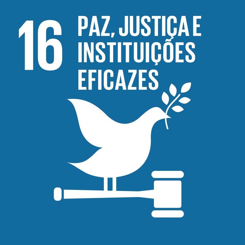 Sobre o ODS 16 - Paz, justiça e instituições eficazes