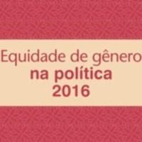 Equidade de gênero na política 2016
