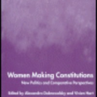 Women making constitutions: new politics and comparative perspectives