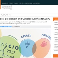 Analytics, Blockchain and Cybersecurity at NASCIO