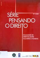 """Texto síntese do relatório: Projeto de pesquisa """"mulheres e políticas de reconhecimento no Brasil"""""""