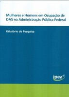Mulheres e homens em ocupação de DAS na Administração Pública Federal